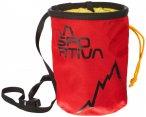 La Sportiva - LSP Chalk Bag - Chalkbag Gr One Size rot/schwarz