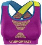 La Sportiva - Women's Focus Top - Sport-BH Gr XL rosa/lila