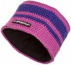La Sportiva - Zephir Headband - Stirnband Gr L rosa/schwarz/lila