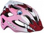 Lazer - Kid's Helm Pnut Dragon Fire Edition - Radhelm rosa/grau/schwarz
