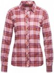 Maier Sports - Women's Sana L/S - Bluse Gr 50 - Regular rosa/rot