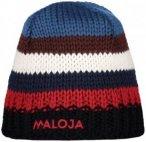 Maloja - JaronasM. - Mütze Gr One Size schwarz/rot/blau