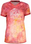 Maloja - Women's WangM. Multi 1/2 - Radtrikot Gr S rot/beige/rosa