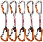 Mammut - 5er Pack Wall Key Lock Express Sets - Express-Set Gr 10 cm grau/orange