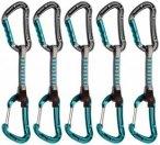 Mammut - Bionic Express-Set 5er Pack - Express-Set Gr 10 cm basalt / aqua