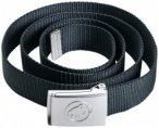 Mammut - Logo Belt - Gürtel schwarz/grau