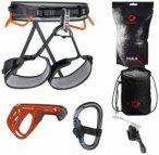 Mammut - Ophir 4 Slide Climbing Package - Kletterset Gr M-XL;XS-M schwarz/orange