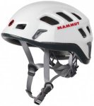 Mammut - Rock Rider - Kletterhelm Gr 52-57 cm grau/schwarz/weiß