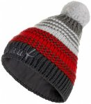 Mammut - Sally Beanie - Mütze Gr One Size schwarz/grau/rot