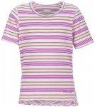 Marmot - Girl's Gracie S/S - T-Shirt Gr L;M;S;XS rosa/grau;grau/blau/rosa