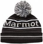 Marmot - Kid's Retro Pom Hat - Mütze Gr One Size schwarz/grau