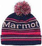 Marmot - Kid's Retro Pom Hat - Mütze Gr One Size schwarz/blau/rosa