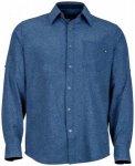 Marmot - Windshear L/S - Hemd Gr L blau