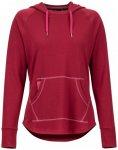 Marmot - Women's La Linea Pullover - Hoodie Gr XS rot