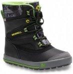 Merrell - Boys Snow Bank 2.0 Waterproof - Winterschuhe Gr 28;31;34 schwarz/beige