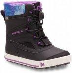 Merrell - Girls Snow Bank 2.0 Waterproof - Winterschuhe Gr 32 schwarz