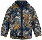 Minymo - Boy's Jacket All Over Print - Regenjacke Gr 74/80 schwarz/grau
