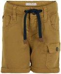 Minymo - Boy's Shorts Twill - Shorts Gr 80;86 braun