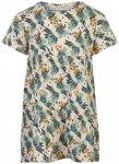 Minymo - Girl's Dress S/S All Over Print - Kleid Gr 104 grau/beige