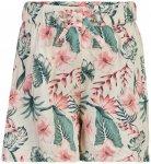 Minymo - Girl's Shorts All Over Print - Shorts Gr 116 grau/weiß/beige