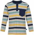Minymo - Kid's Granddad Longsleeve Y/D Stripes Boy - Longsleeve Gr 110 grau