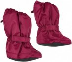 Minymo - Kid's Le 95 Footies Solid Oxford - Gamaschen Gr 0/1 Years rot/rosa