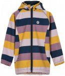 Minymo - Kid's Softshell Jacket II - Girl - Softshelljacke Gr 140 grau/orange/bl