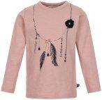 Minymo - Kid's T-Shirt L/S Print Girl - Longsleeve Gr 104 beige
