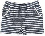 Minymo - Kim 89 Shorts Y/D Striped - Jeans Gr 74 grau/schwarz