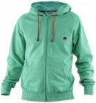 Monkee - Kamikaze Sweater Zip - Hoodie Gr S türkis/grün