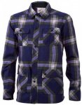 Mons Royale - Mountain Shirt - Hemd Gr L schwarz/lila