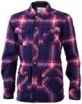 Mons Royale - Mountain Shirt - Hemd Gr M;S schwarz/lila;grau/blau/schwarz