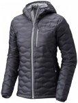 Mountain Hardwear - Women's Nitrous Hooded Down Jacket Gr L;M;XL schwarz/grau;sc