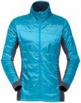 Norrøna - Women's Falketind Alpha60 Jacket - Kunstfaserjacke Gr L türkis/blau