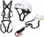 Ocun - Via Ferrata Bodyguard Pail Set - Klettersteigset blau/weiß