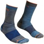 Ortovox - Alpinist Mid Socks - Trekkingsocken Gr 42-44 blau/schwarz
