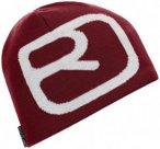 Ortovox - Beanie Pro - Mütze Gr One Size rot/grau