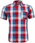 Ortovox - Cortina Shirt Short Sleeve - Hemd Gr S grau/rot/rosa