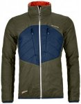 Ortovox - Swisswool Dufour Jacket - Wolljacke Gr M schwarz/oliv/blau