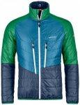 Ortovox - Swisswool Piz Boval Jacket - Wolljacke Gr L blau