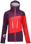 Ortovox - Women's 3L Guardian Shell Jacket - Skijacke Gr S lila/rot