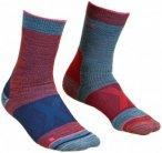Ortovox - Women's Alpinist Mid Socks - Trekkingsocken Gr 42-44 blau/rot