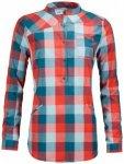 Ortovox - Women's Cortina Tunika Long - Bluse Gr M;XS rot/grau/blau;grau/rot/ros