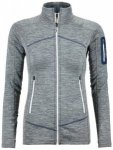 Ortovox - Women's Fleece Light Melange Jacket - Fleecejacke Gr XL grau