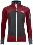 Ortovox - Women's Piz Badile Jacket - Softshelljacke Gr S rot/schwarz