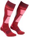 Ortovox - Women's Ski Rock'N'Wool Socks - Skisocken 39-41 rot/rosa