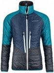 Ortovox - Women's Swisswool Piz Bial Jacket - Wolljacke Gr L blau/schwarz/türki
