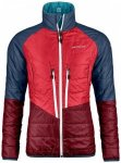 Ortovox - Women's Swisswool Piz Bial Jacket - Wolljacke Gr L rot/blau
