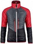 Ortovox - Women's Swisswool Piz Bial Jacket - Wolljacke Gr S schwarz/rot