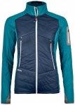 Ortovox - Women's Swisswool Piz Roseg Jacket - Wolljacke Gr S blau/türkis